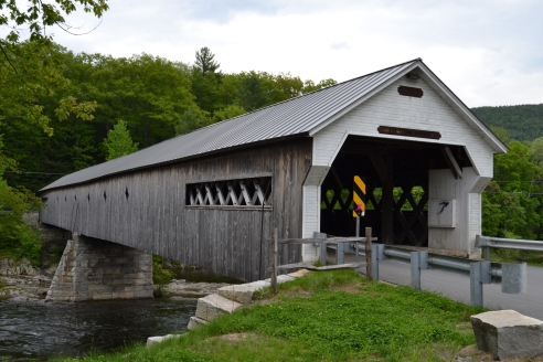West Dummerston Bridge - 1872  Longest working covered bridge in Vermont!