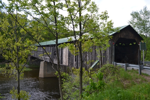 Scott Bridge - 1870 Longest non working covered bridge in Vermont.