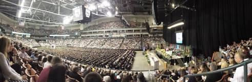 A huge graduation
