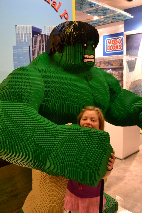 The Hulk got ELIZABETH!