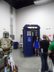 Yes! They had a Tardis! Unfortunately, the line was so long, we didn't get our photos in it :(